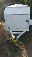 White Single Axle Go Kart Trailer. Kurralta Park West Torrens Area Preview