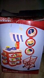 Tesco kids role play shop