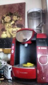 Bosch Tassimo coffee machine with brita technology
