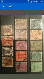 British Empire Commonwealth India Stamp Collection. Indian Stamps