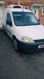Fridge !!! VAUXHALL COMBI .2005 white ,5gears New engine,new turbo , Cheap TAX and INSURANCE........