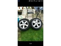 Honda R alloy wheels