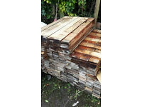 Pallet wood - wall - picket - cladding