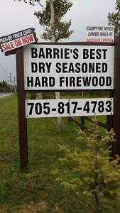BARRIE'S BEST DEALS on DRY HARD MAY 24 CAMPFIRE WOOD OPEN SAT