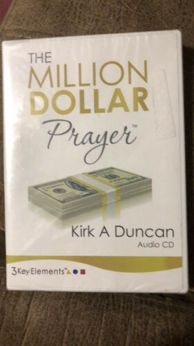 NEW Million Dollar Prayer by Kirk Duncan 3 Key Elements Life Coaching Audio CD
