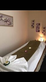 1 hr massage only £35 before 1:00 pm! Tiger Lily Thai spa - Glasgow city centre