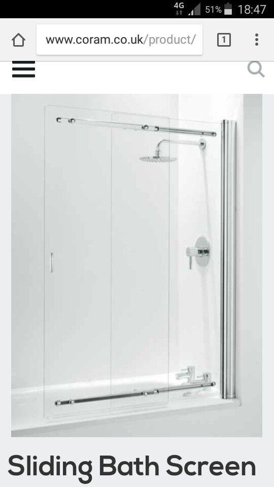 Coram Shower Bath Screen