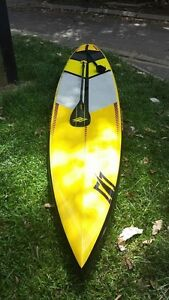 Naish Glide 14.0 GX plus Makaini carbon paddle. Palm Cove Cairns City Preview