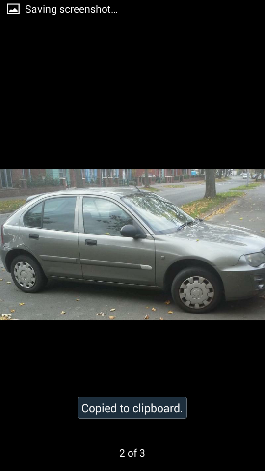 rover 25 grey 5 door needs some work would make great first car ...