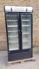 branded shop drink fridge