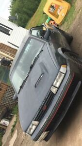 1988 Cavalier RS 2.8 V6 Multi port fuel injection. 5 speed
