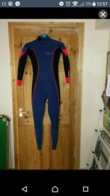 C-Skins Wetsuit solace 3x2 for sale used twice uk 4