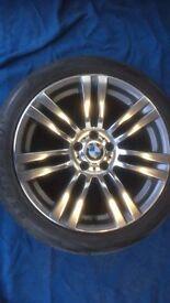 "20"" GENUINE BMW X5 333M ALLOY WHEELS / TYRES"
