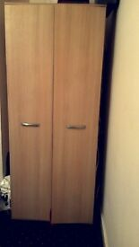 Single wardrobe for sale from smoke free home. 1 year old in perfect condition