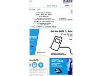 2x Rag N Bone Man tickets Brixton O2 23rd November