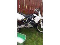 Yz 250 2001 model swap for 125 road bike?????