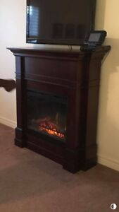 Excellent shape  electric fireplace