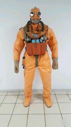 USSR Soviet Russian Diving Suit Drysuit SGP-K Full Set