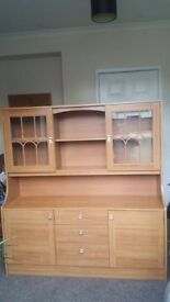 Display cabinet, lovely condition, can deliver