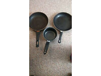 Assorted Pots & Pans