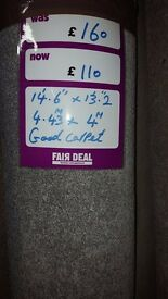 brand new roll of good quality carpet (roll 7)