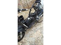 Gilera runner new shape parts and old