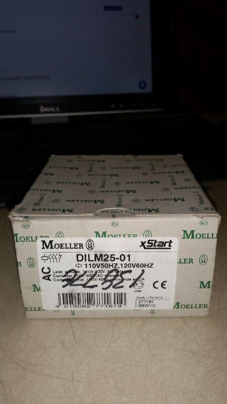 MOELLER ELECTRIC DILM25-01 120V/60HZ 11Kw/400V Contactor