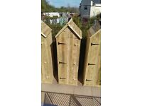 Garden Tool Shed Sentry Box