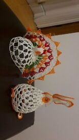 Hand made Easter decorations