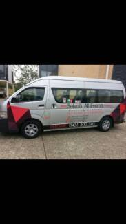 Selva's All Events Shuttle Services