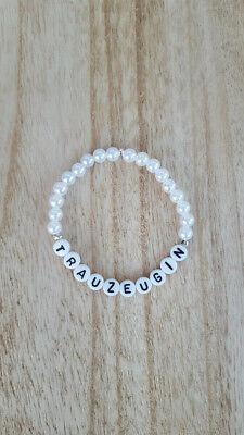 Armband Trauzeugin Hochzeit Geschenk Trauzeugin Buchstaben