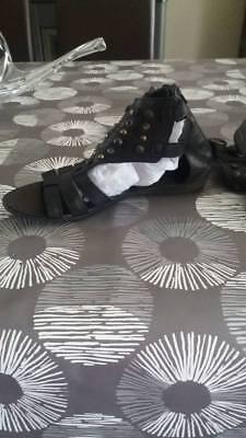 sandales pointure 39  en cuir