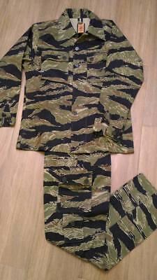 Vietnam War Type Tiger Stripe JWD pattern Combat Uniform, US-S or US-XL only