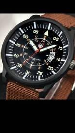 Brand new men's Miltary Luminous Dial watch