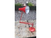 Herbert Terry Anglepoise architectural lamp working restoration to make good