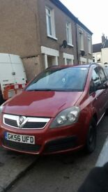 VAUXHALL ZAFIRA 7 SEATER PETROL ALL PARTS AVILABLE FOR SALE JUST TEXT WHAT YOU NEED