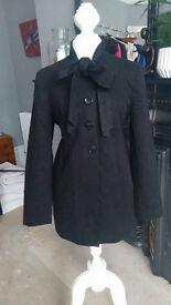 Lightweight Black Coat size 12