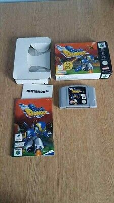Nintendo N64 Buck Bumble Boxed Complete