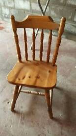 PINE CHAIRS FOR SALE