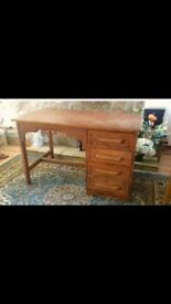 Lovely upcycled solid wood desk