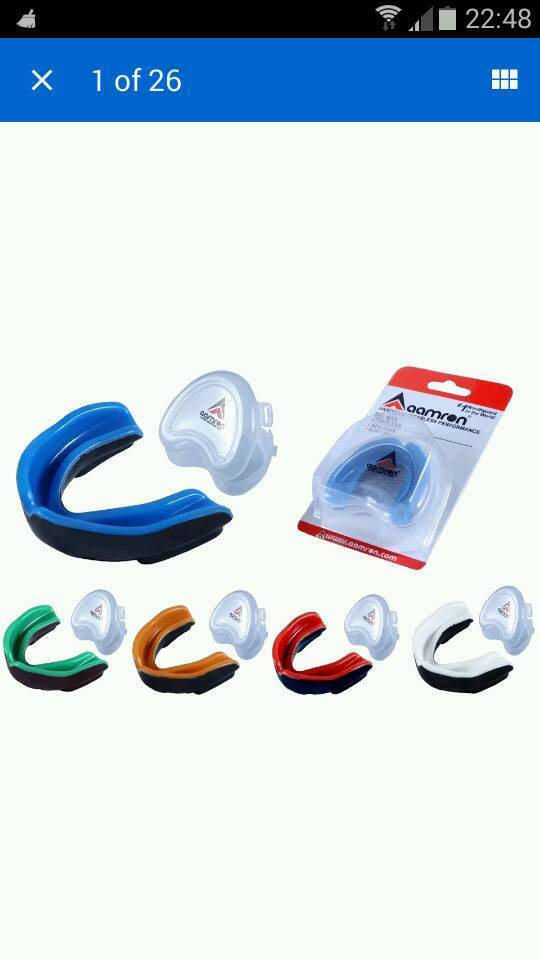 Aamron adult gel mouthguards