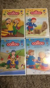 Caillou dvds