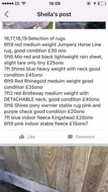 For sale ❗️❗️❗️❗️ Saddles, rugs, boots!! need gone asap deals available!!
