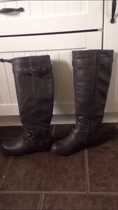 Ladies Size 6 Charcoal Grey boots from Just Fab $40 OBO