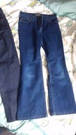 Size 12 M+S Short Jeans - Both for £10