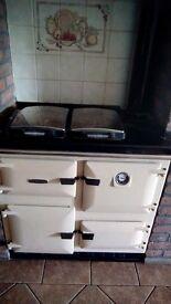 rayburn oil burning stove