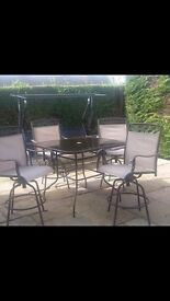 Garden patio chairs and table £120ono
