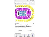 4 x country to country tickets, London, Saturday 11th March. Block 413, row b, seats 760-763