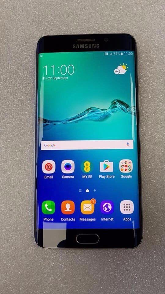 SAMSUNG GALAXY S6 EDGE PLUS 32GB UNLOCKED WITH RECEIPT