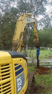 Auger and Auger Drive Packages for Komatsu Mini Excavators Northmead Parramatta Area Preview